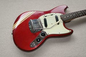 Fender Mustang 1969 Competition Red Original