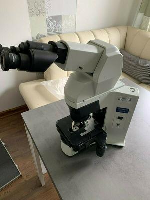 Olympus Ergonomisches Mikroskop BX-45 inkl. Zubehör