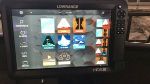 Lowrance HDS 12 Carbon Echolot Worldversion