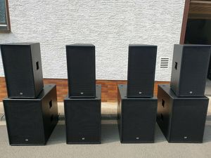 Dab Audio mit 3600 Watt Rms Aktive Pa