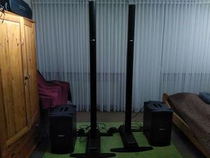 2 x  Bose L1 Model 2 PA- Systeme mit B2 Bassmodulen