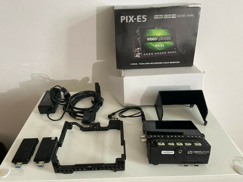 Video Devices Pix E5 + PIX Audio LR Interface