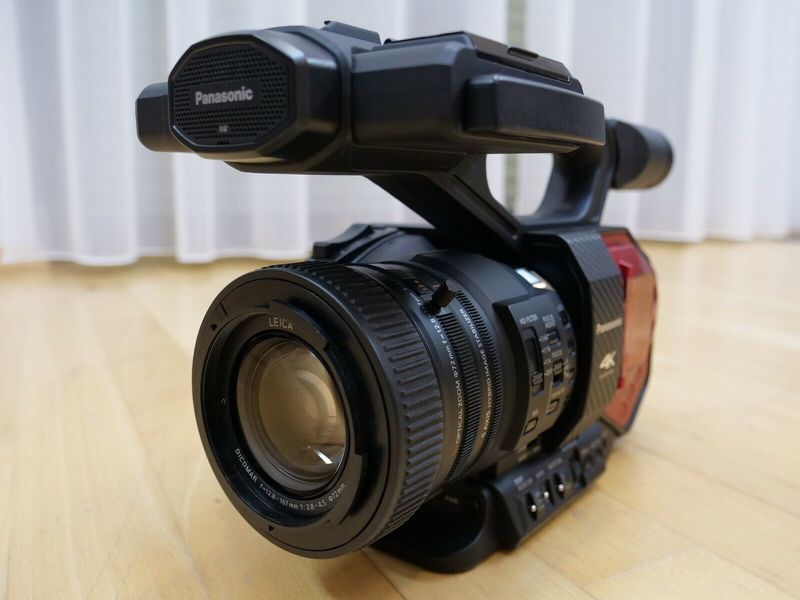 Panasonic AG-DVX200 4K Camcorder Top Zustand