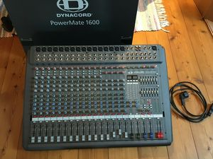 Dynacord Powermate 1600 Powermixer EV