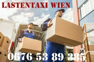 Umziehen und  Entrümpeln mit Lastentaxi Wien!