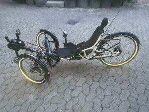 HP Velotechnik Scorpion FS 26 Liegedreirad