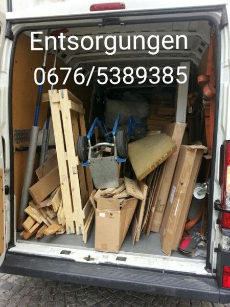 Umzug und Entsorgung mit Lastentaxi Wien!