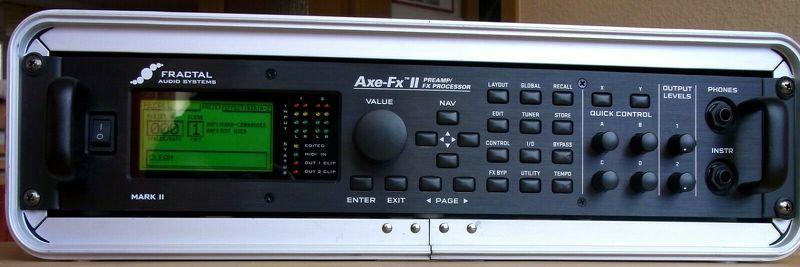 Fractal Axe-Fx II Preamp