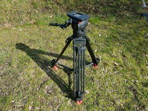 Sachtler Video 18 P - Carbon Fiber Tripod with Fluid Head