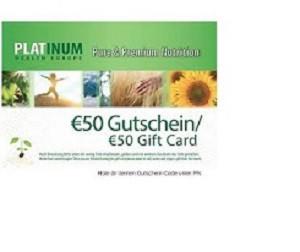 50 € Gutschein von Platinum Europe