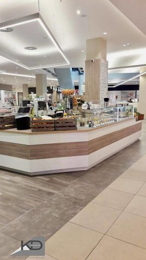 Exklusive Gastro - Cafe - Juice Bar im Shopping Center - Top Umsätze