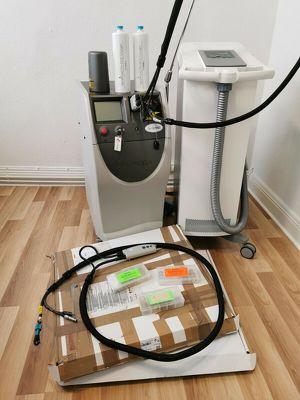 Candela Gentle Yag Laser Haarentfernung inkl. Zimmer Cryo 5 Kühlgerät