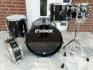 Sonor  ProLite Maple Schlagzeug + Snare + DTS 675MC