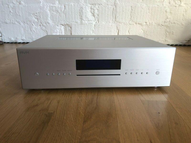 AVM Evolution CD 5.2 MK II Silber mit AVM-Rechnung