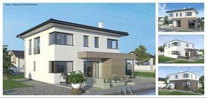 Randlage Fraham - ELK-Design-Haus und Grundstück in leichter Hanglage (Wohnfläche - 130m² & 148m² & 174m² möglich)