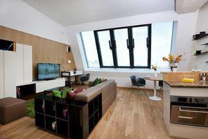 Klein aber fein: Extravagantes Penthouse mit Dachterrasse