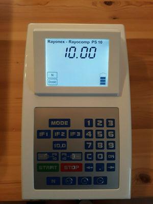 Rayonex PS 10 evolution, Bioresonanz, Akkugerät mit Koffer