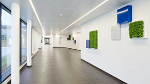 Modernes Bürogebäude in Wien 19 im Niedrig-Energie-Standard