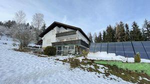 Wolfsberg Nähe 2 Fam. Haus + Garconiere mit Panoramablick, Alleinlage am Waldrand