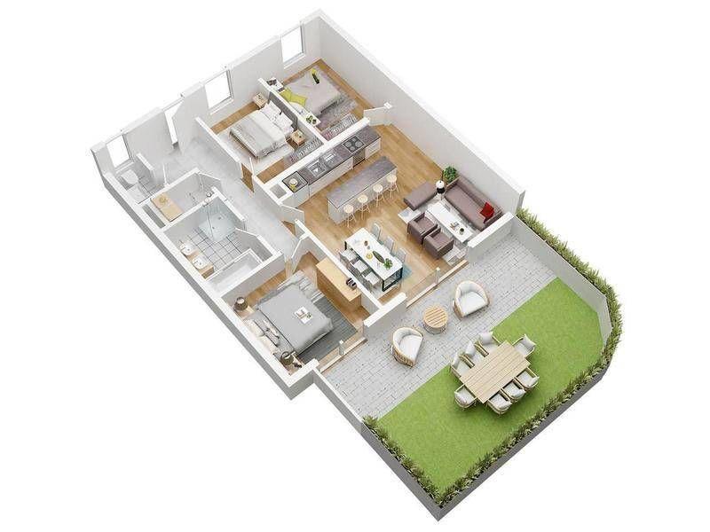 !RESERVIERT! - TOP Gartenwohnung zur Miete in Silberseenähe - ERSTBEZUG AB JUNI