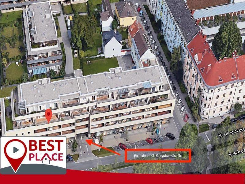 Tiefgaragenplätze zu vermieten! Sterneck/Koschatstraße