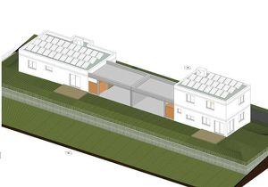 2021 im stilvollem BUNGALOW exklusiv, hochwertig ausgestattet Terrasse,Eigengarten Doppelcarport