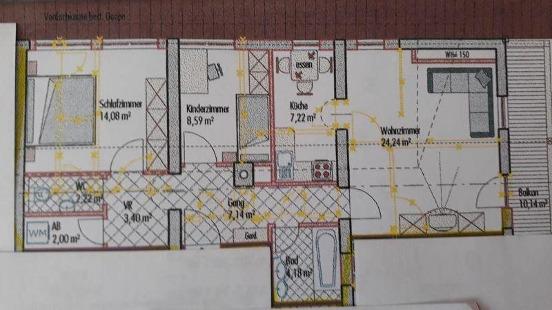 top aktuell: Wohnung im Zentrum von Aschau zu vermieten