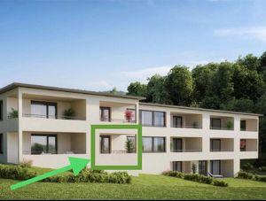 Wohnung Neubau 2 Zimmer Weiler Erstbezug Hundefreundlich