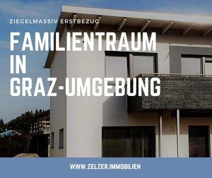 *TOP 28*-Traumhaftes Ziegelmassiv -Reihenhaus ab 272.500€ im Süden von Graz  **PROVISIONSFREI**