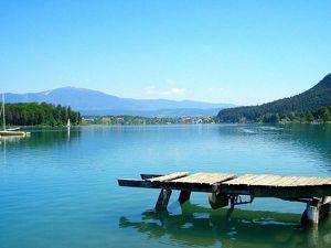 Schöne Pension am türkisblauen Faaker See