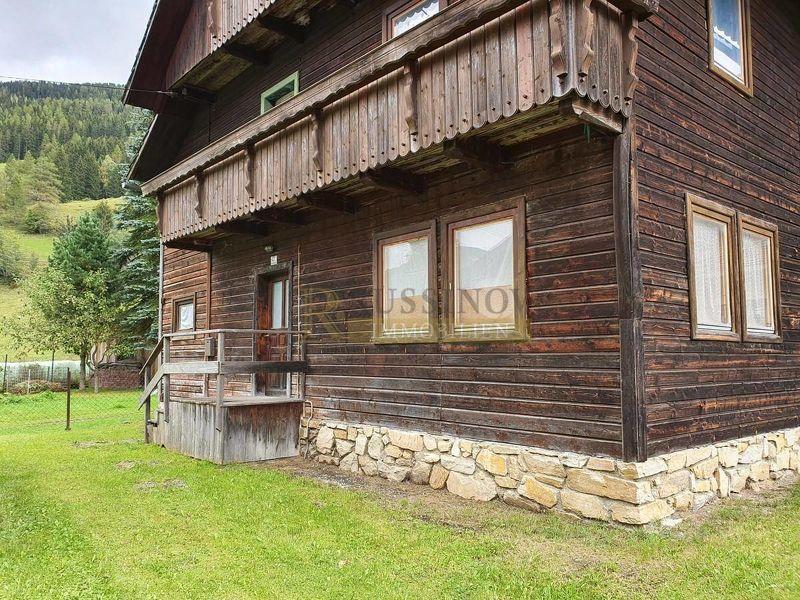 Ferienhaus mit Potential zwischen Turracherhöhe und Hochrindl