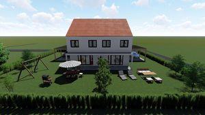 Doppelhaus Bau in Greinbach
