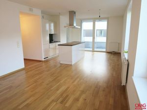 EUROGATE: Erstklassige 2-Zimmer Wohnung mit Loggia im Passivhaus in 1030 Wien zu mieten