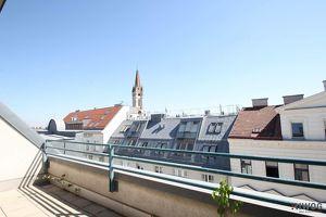 ++ NEU ++ Südost Dachterrasse mit Blick zur Kirche Herz Jesu - 3 Zimmer - klimatisiert - ideal für Familien oder WG
