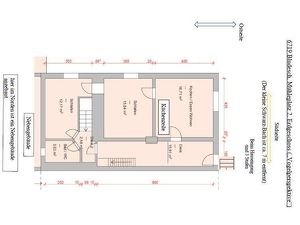 3 Zi. EG-Wohnung mit Gas-Zentralheizung