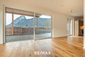 2-Zi-Penthouse mit 77 m² Dachterrasse und Festungsblick in Kufstein