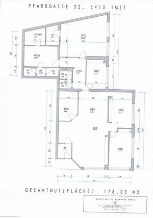 Repräsentative Einzelhandelsfläche bzw. Büroflächen in der schönen Oberstadt in Imst zu vermieten!
