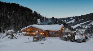 Exklusive Schihütte im Salzburger Land