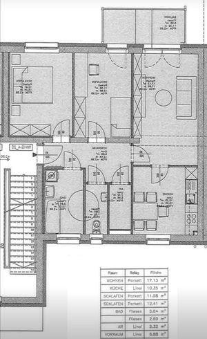 Günstige 69m2 3 Zimmer-Mietwohnung provisionsfrei