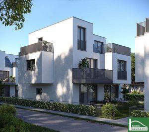AUFGEPASST! - Exklusive Doppelhaushälften! Absolute Ruhelage Nähe Leopoldauer Platz! Großzügige Freiflächen!