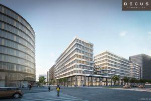 AM HAUPTBAHNHOF | Bürohaus QBC 1 im Quartier Belvedere ||