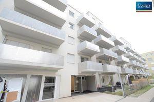 Helle, effizient geschnittene 3-Zimmer-Wohnung mit Balkon im Quartier 11