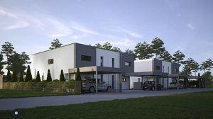 Moderne neu errichtete Doppelhaushälfte in Kottingbrunn