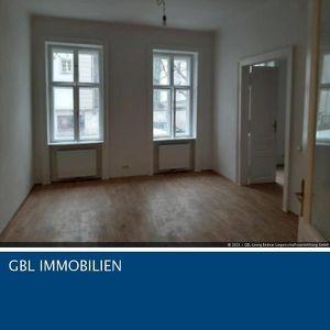 Servietenviertel - Müllnergasse: Topsanierte 73 m2 Stilaltbaumiete, großes Wohnzimmer, 2 Schlafkabinette, Einbauküche, 5 Jahre befristet, Gesamtmiete