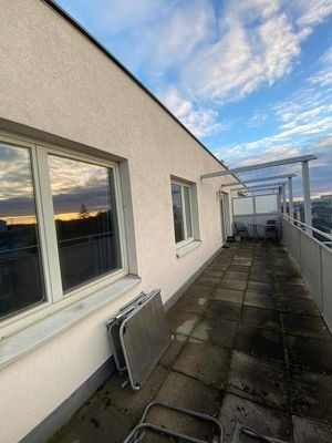 11, Fernblick! moderne ruhige Terrassenwohnung
