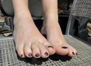 Weiblicher Fußfetisch