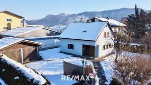 Gemütliches Holzriegelhaus mit Sanierungsbedarf in Ebenthal