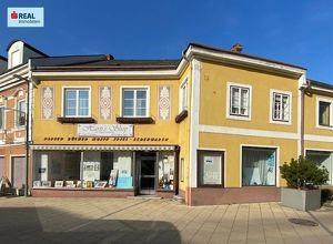 Verkaufslokal im Ortszentrum von Pöchlarn