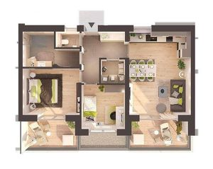 Provisionsfreie Neubau 3-Zimmerwohnung in Gröbming inkl. Carport