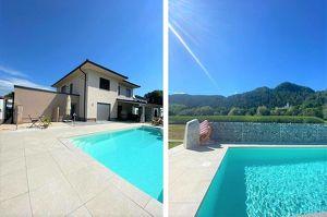 Neuwertiger Wohntraum mit Pool und Ausblick